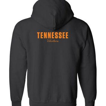Official NCAA University of Tennessee Volunteers, Knoxville Vols UT UTK Women's Zip Hoodie - 35TN-20-b