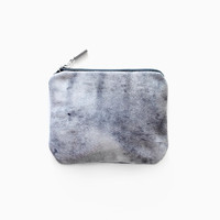 Sky Blue Marble Coin Purse No. CP-1005