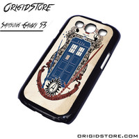 tardis doctor who uss enterprise For Samsung Cases Phone Covers Phone Cases Samsung Galaxy S3 Case Samsung Galaxy S3 Case Smartphone Case