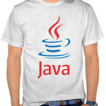 Java white T-SHIRT By GUPH