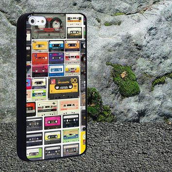 Cassette Tapes Case for iPhone 4/4s,iPhone 5/5s/5c,Samsung Galaxy S3/s4 plastic & Rubber case, iPhone Cover