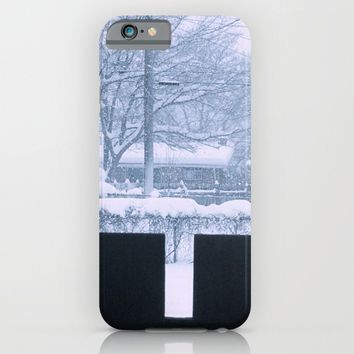 Snow day iPhone & iPod Case by Jessica Ivy
