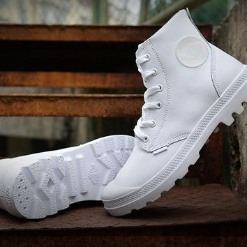 Palladium Pampa Hi Vl Boots White For Women & Men