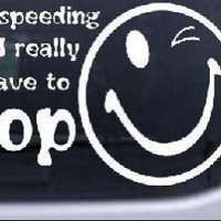 Funny I really have to Poop Funny Car Window Wall Laptop Decal Sticker -- White 6in X 3.2in