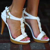 My First Love Heels: White | Hope's
