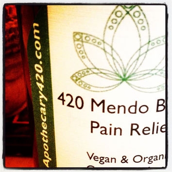 420 Mendo Blendo Cannabis Pain Relief Lotion / Calming Lavender