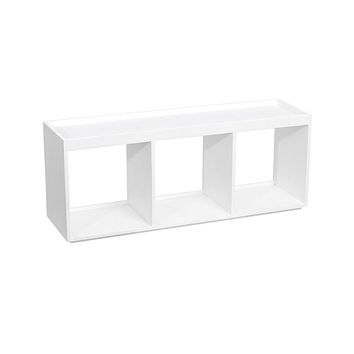 WOLF Cubby - White - Fits Single Cub Winders - Wood Frame