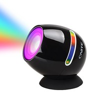 [Upgrade] Onite Living 256 Colors LED Light, Touch Pad Control Colorful Mood Rechargeable Battery Built in LED Lamp, Multidimensional Placed Dream Atmosphere Multi-Colour Changing Lamp for Party, Gift, Holiday, Valentine's day, comes with free USB Charging