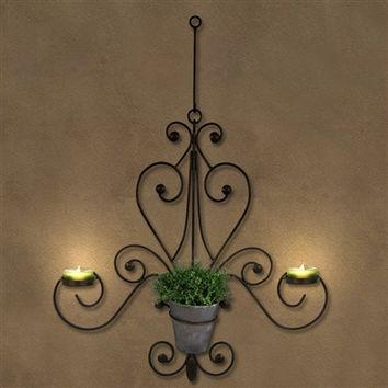 SheilaShrubs.com: Chandelier Wall Plaque WD205DB by Plastec Industries: Wall Mounts