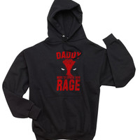 NEW Daddy Needs To Express Some Rage Unisex Hoodie S to 3XL