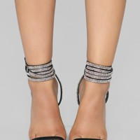 All About That Sass Heeled Sandal - Black