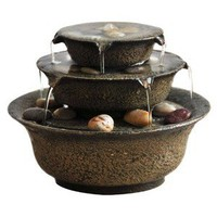 HoMedics Envirascape Serenity Bowl Relaxation Fountain - Brown (Small)