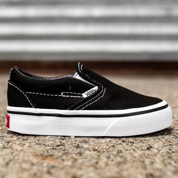 qiyif VANS CLASSIC SLIP-ON - BLACK