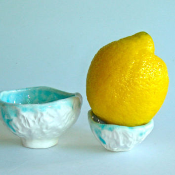 Pinch pots nesting bowls trinket bowls by Clayshapes on Etsy
