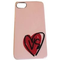 Victoria's Secret iPhone 4/4S Phone Case PINK Red Heart VS