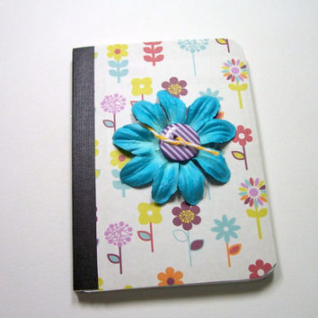 Mini Composition Book, Notebook, Journal, Mini Notebook, Mini Journal, altered composition book, Pocket journal