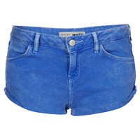 MOTO Cornflower Blue Hotpants - Shorts - Clothing - Topshop