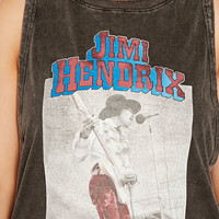 Plus Size Jimi Hendrix Graphic Tee