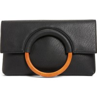 BP. Faux Leather Circle Clutch | Nordstrom