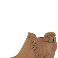 In the Lead Camel Ankle Boots