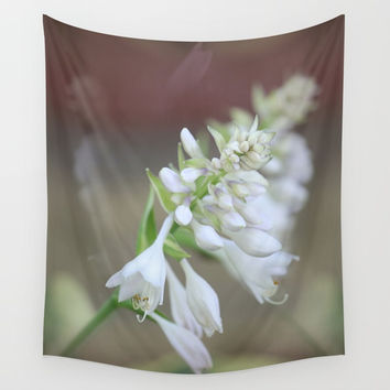 Foxglove Penstemon Wall Tapestry by Theresa Campbell D'August Art