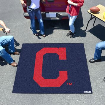 "MLB - Cleveland Indians ""Block-C"" Tailgater Rug 5'x6'"