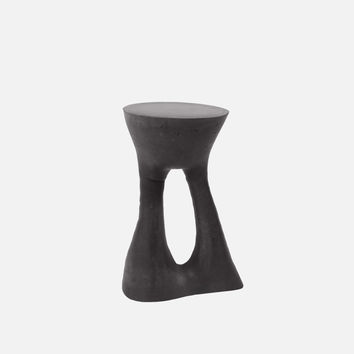 Kreten Side Table - Tall / Charcoal