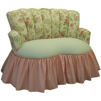 Angel Song 121420108 English Bouquet Child Princess Loveseat