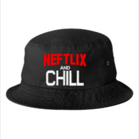 neftlix and chill - Bucket Hat