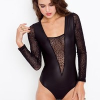 Vanna Plunge Bodysuit in What's New at Nasty Gal