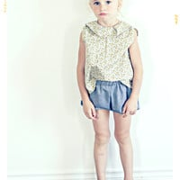The Acorn Ruffle Blouse. Limited Edition.