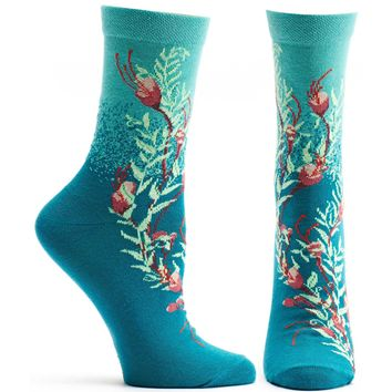 Blooming Kelp Sock