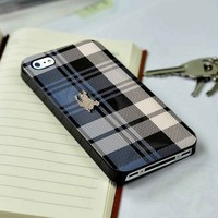 Burberry Blue Wallet iPhone 4 or 4s 5 5s 5c case and Samsung galaxy s3 s4 case