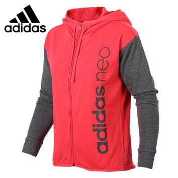 Original New Arrival 2017 Adidas NEO Label W CS FULL ZHDY Women's jacket Hooded Sports
