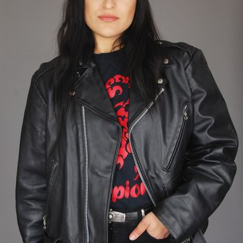 The Leather Shop Motorcycle Jacket