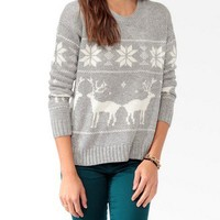 Relaxed Fair Isle Sweater