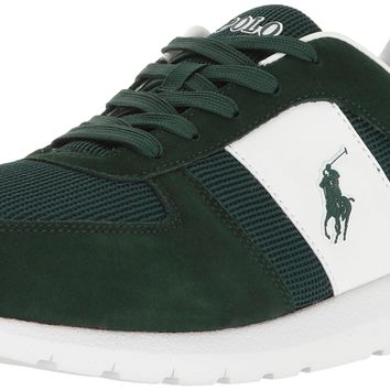 Polo Ralph Lauren Men's Cordell Sneaker Green 8 D(M) US '