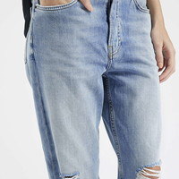 TALL MOTO Ripped Hayden Jeans - Topshop