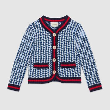 Gucci Children's Guccy Wishify wool jacket