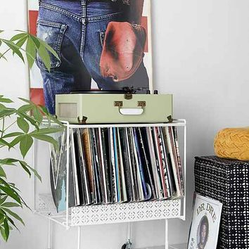 Perforated Vinyl Record Table-