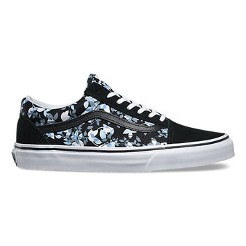 Reverse Floral Old Skool | Shop Womens Shoes at Vans