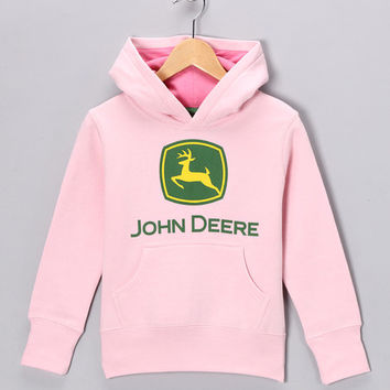 Pink 'John Deere' Hoodie - Infant, Toddler & Girls | something special every day