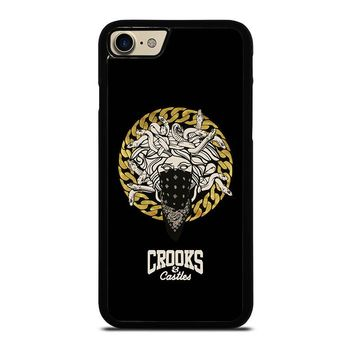 CROOKS AND CASTLES BANDANA iPhone 7 Case Cover