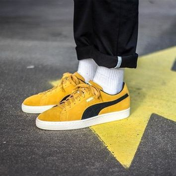 spbest Puma Suede Classic Archive Yellow / Black