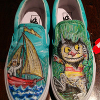 Where The Wild Things Are Custom Vans