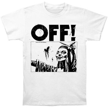 OFF! Men's  Satan Did Not Appear T-shirt White