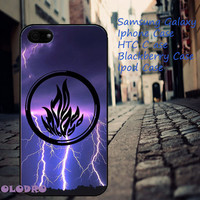 Divergent Dauntless Logo iPhone 5/5S/5C/4/4S, Samsung Galaxy S3/S4, iPod Touch 4/5, htc One X/x+/S
