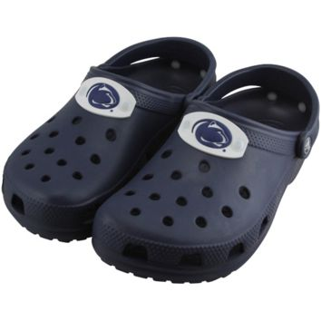 Penn State Nittany Lions Ladies Crocs Classic - Navy Blue