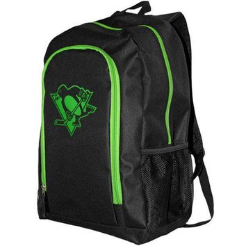 NHL Pittsburgh Penguins Neon Tracker Backpack