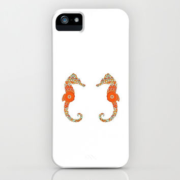 SEAHORSE  iPhone & iPod Case by Monika Strigel